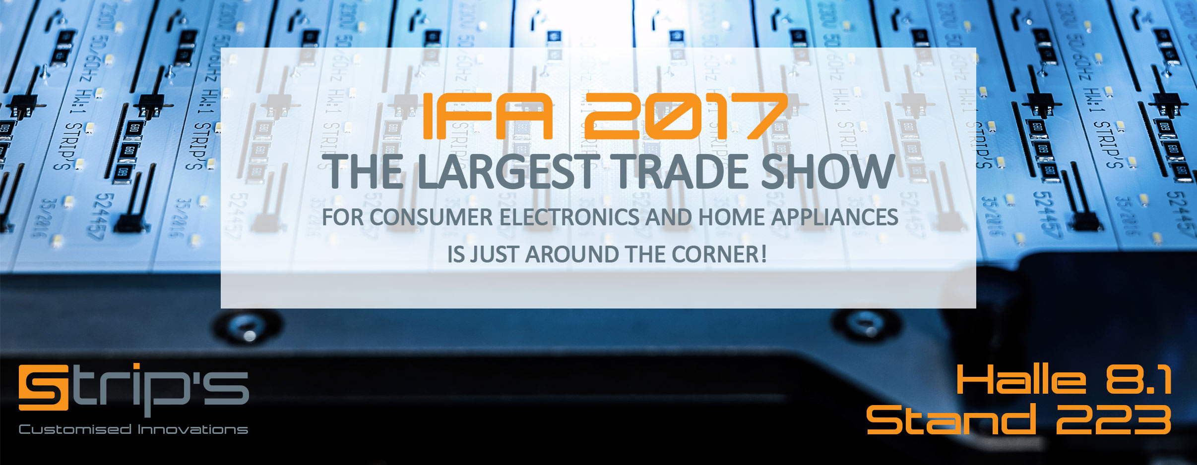 Visit Us At Ifa 2017 Strip S