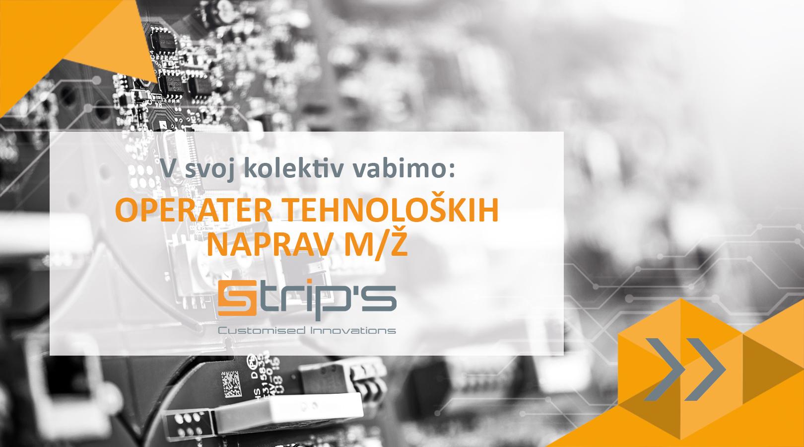 operater tehnoloskih naprav